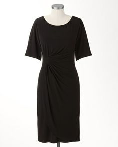 want to make something similar little black knit dress for summer.  Standard View