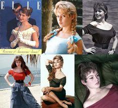 Brigitte Bardot y el escote barco, bote o bandeja Short Pixie, Brigitte Bardot, Corset, Pin Up, Movie Posters, Inspiration, Vestidos, Frases, Blouse Patterns
