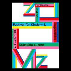 """Gefällt 27 Mal, 1 Kommentare - Erich Brechbühl [Mixer] (@erichbrechbuhl) auf Instagram: """"#poster #zoomz #filmfestival #lucerne"""""""