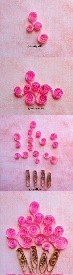step by step how to do quilling - Google Search