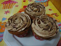Cupcakes de café.