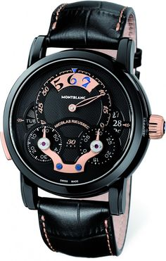Montblanc Nicolas Rieussec Rising Hours for Monaco timepiece unveiled for Only Watch 2013