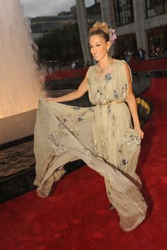 Sarah Jessica Parker in Valentino at the New York City Ballet Fall Gala