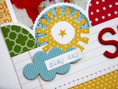 Project Ideas for Bella Blvd - Tiny Tots Collection - Ciao Chip - Self Adhesive Chipboard - Icons