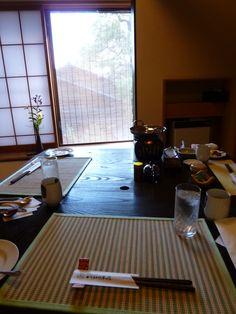 "Prima colazione, ""Kashiwaya-Honten""(Hotel), Bessyo-Onsen(Terme), Ueda Nagano Japan (Ottobre)"