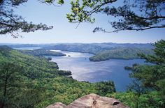 Awesome view of Lake Jocassee, South Carolina