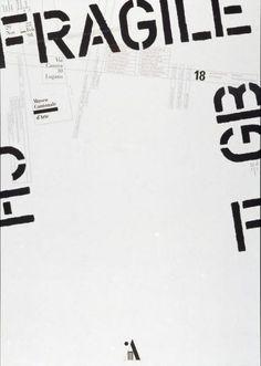Bruno Monguzzi per il Museo Cantonale d'Arte, Lugano, CH, 1997
