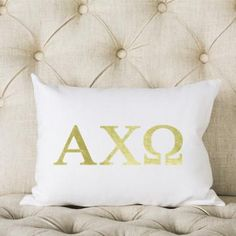 Alpha Chi Omega Pillow