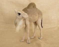 RESERVED FOR MARIA Leena the Dromedary Camel: von TheWoolenWagon