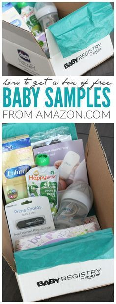 How to Get Free Baby Samples from Amazon.com! Great tips for saving money and stocking up for when your baby arrives!