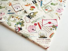 Mushroom, Science Lab, School Lab Experiment, Discovery Themed, Microscope, Lantern, Quilt, kid dress, kitchen curtain, Cushion Cover, CT526