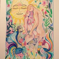Alpha Channelingis a visionary artist that is redefining erotic art by visually articulating sacred sexuality with gentle colors that penetrate the mind, and inspire the soul. // The gallery below…