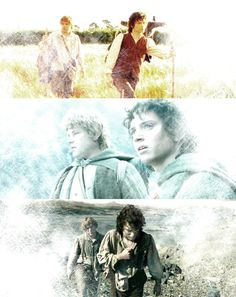I have to pin this...the beginning, middle and end of their journey. :')