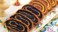 Jewish Kindli _ This traditional cake comes from northwest Hungary. This is another family favourite saved for special occasions. This makes four rolls: two with a poppyseed filling and two with a nut filling.