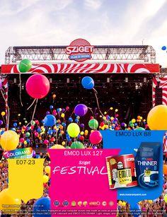 Kawan EMCO, keramaian festival ini luar bisa dengan warna-warni balon-balon yang mengangkasa di udara. Semangat dan kemeriahan festival ini bisa mengispirasi Anda dalam berkarya dengan menuangkan warna EMCO LUX 127, EMCO LUX 88 dan E07-23 pada palet EMCO. Anda bisa melihat artikel menarik lainnya di http://matarampaint.com/news.php.