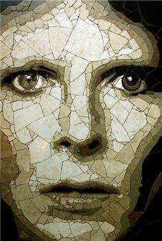 David Bowie by mosaic artist Ed Chapman