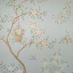 Exquisite wall painting Paulin Paris