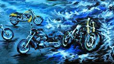 PCペイントで絵を描きました! Art picture by Seizi.N:   FB友の庄司 さんへ新しいタイヤでかっ飛ばしてきましたか、これからの季節はバイクはイイですね! 海に山に、僕は3年位ウインドサーフィンを教えていた頃、鎌倉に住んでいましたが湘南鎌倉をバイクで走るのは最高に気持ちよかったです、そんな感じでお絵描きした絵をアップします。 ライダーにはたまらないスピード感ある歌、日本のジャニス山根麻衣の歌を紹介します。 山根麻衣 Maybe Tomorrow http://youtu.be/MKoKGM80SG4