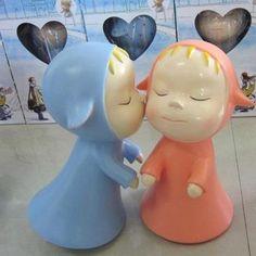 Sleepwalking doll by Yoshitomo Nara