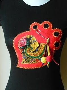 Inspired by Portuguese embroidery traditional design.
