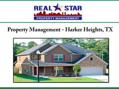 For efficient property management services in Harker Heights, TX, look no further than REAL Star Property Management, LLC. The services offered by the company include tenants screening, property marketing, rent collection, maintenance and repair work etc. For details about the property management company serving Harker Heights, visit: http://www.realstarmanage.com
