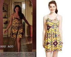Jane the Virgin: Season 2 Episode 12 Jane's Yellow Print Dress