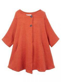 Women Artistic Loose Cloak Cotton Cardigan Coat
