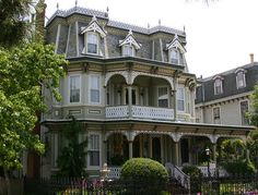 My favorite house at Cape May - the former Gibson Girl House