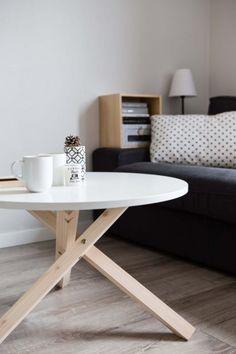 meble - stoły i stoliki-Stolik kawowy okrągły w stylu skandynawskim (68)