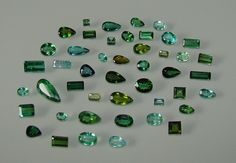 Tourmaline - 1 Lot (46 pieces - 29,4 cts) TU46 via Gems' Investors. Click on the image to see more!