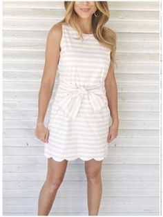 **** STITCH FIX  2017 Spring Summer styles! Loving this beige and white bow tie front inspiration dress. Get your fix scheduled today to start receiving beautiful looks just like this one! Just click the picture to get started today and custom style your own personal wardrobe with your OWN personal stylist! #StitchFix #sponsored
