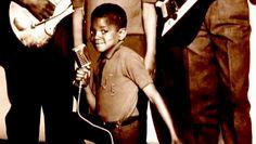 A young Michael Jackson...cutie pie.