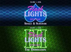 Flash Lights - capas de evento para Facebook
