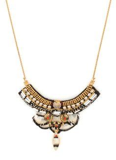 Achetez le bijou Collier Satellite Indian Amazon bleu , pour 195,00 € seulement sur le site officiel Satellite Paris