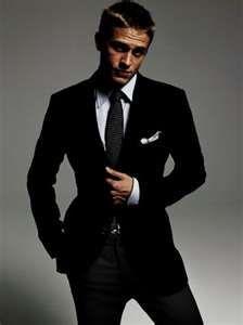 Handsome....