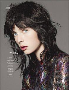 Elle France September 2014 | Edie Campbell por Liz Collins [Editorial]