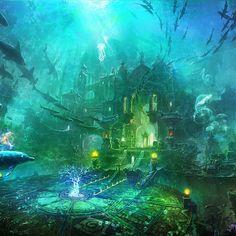 underwater city - Tìm với Google