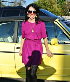 Refashionista -- this may be my new favorite blog.     She doesn't give detailed tutorials, but she describes in enough detail so it's pretty easy to figure out how she refashions thrift store finds into cute and wearable clothes.     Time to break out the sewing machine again ...