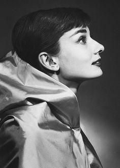 "beauvelvet: """"Audrey Hepburn in a publicity shot for Funny Face, 1957. "" """