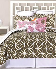 Trina Turk Bedding, Trellis Java Comforter and Duvet Cover Sets - Trina Turk - Bed & Bath - Macy's