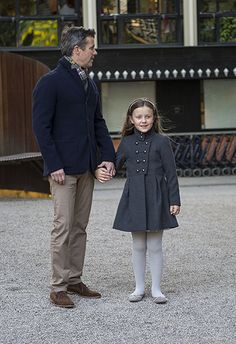 Hello!  Crown Prince Frederik and elder daughter Princess Isabella attended an Adele concert in Denmark, April 29, 2016