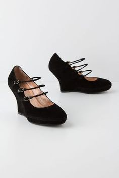 Anthropologie - Hansa Mary-Janes - Still high but a whole lot more secure and easy to wear... and still, all the sexy!