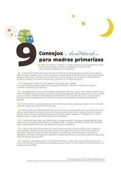 9 Consejos para madres primerizas <3
