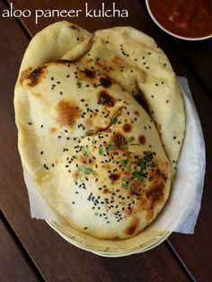 from 18 votes Print masala kulcha recipe Kulcha Recipe, Chaat Recipe, Spicy Recipes, Cooking Recipes, All Food Recipes, Vegetarian Recipes, Cooking Icon, Healthy Recipes, Paratha Recipes