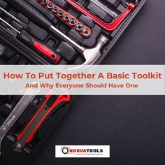 Owning basic tools or accumulating a tool kit isn't just for tradies or those wishing to begin home DIY projects. Everyone should be familiar with basic tools and be equipped with good quality essentials. Whether the need for immediate home repairs arise, or if you might've found yourself stuck on the side of the road needing to change a tire - being familiar and owning tools is essential for everyone. Here is a helpful guide on the basics everyone should have ready for if they may need…
