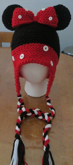 Just made this Mini Mouse Hat