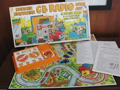 Made by Parker Brothers in 1976, the CB Radio game is a family game for 2 - 4 players, ages 8 to adult. French Toast Kitty on Etsy