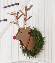 Aqui encontra as melhores ideias para renovar a decoração da sua casa neste Natal - super originais, fáceis de fazer e pouco dispendiosas!