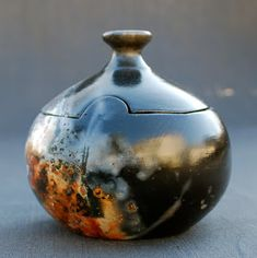 cpcarlsonpottery: PIT, SAGGAR & RAKU FIRED POTTERY