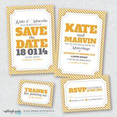 Yellow Invite Suite